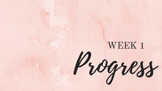 Week 1 Fitness Challenge // Progress + Update