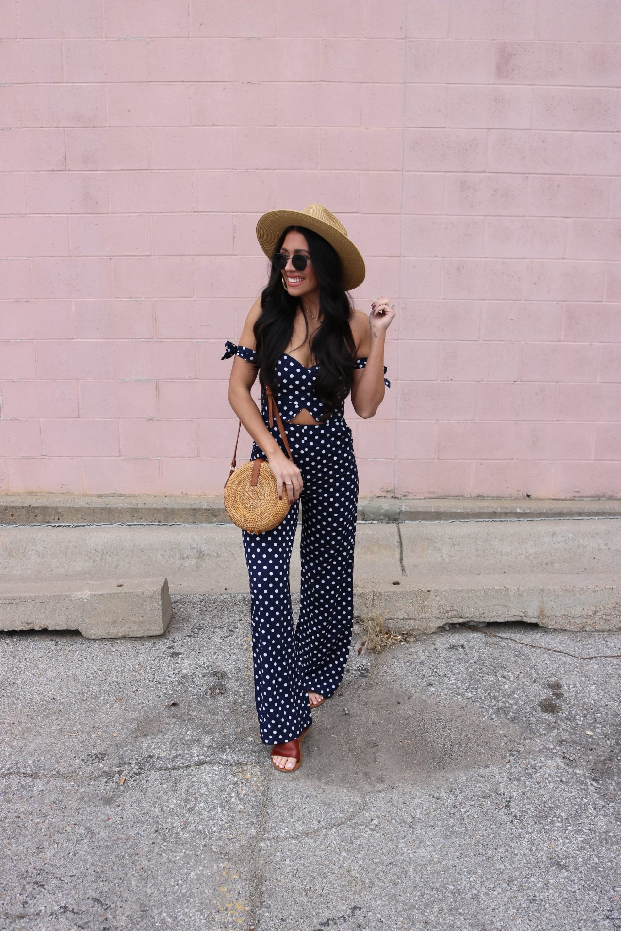 polka dots on trend