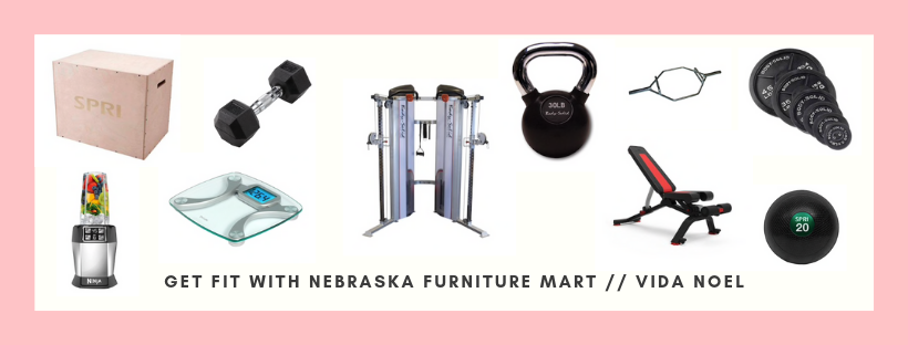 Get Fit with Nebraska Furniture Mart