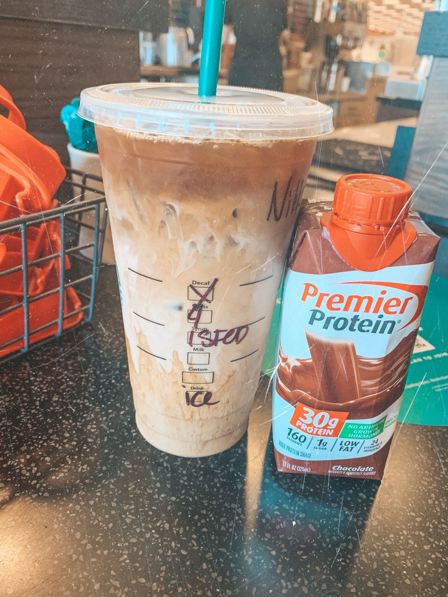 calorie friendly Starbucks drinks