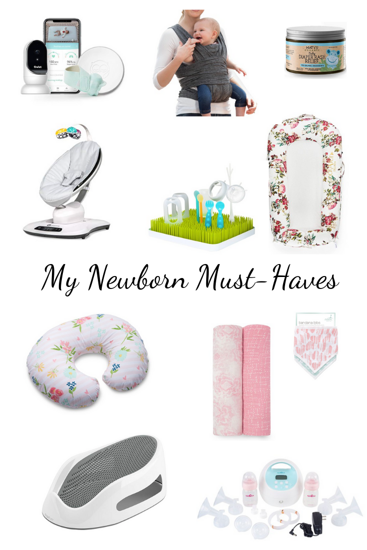 my newborn must-haves