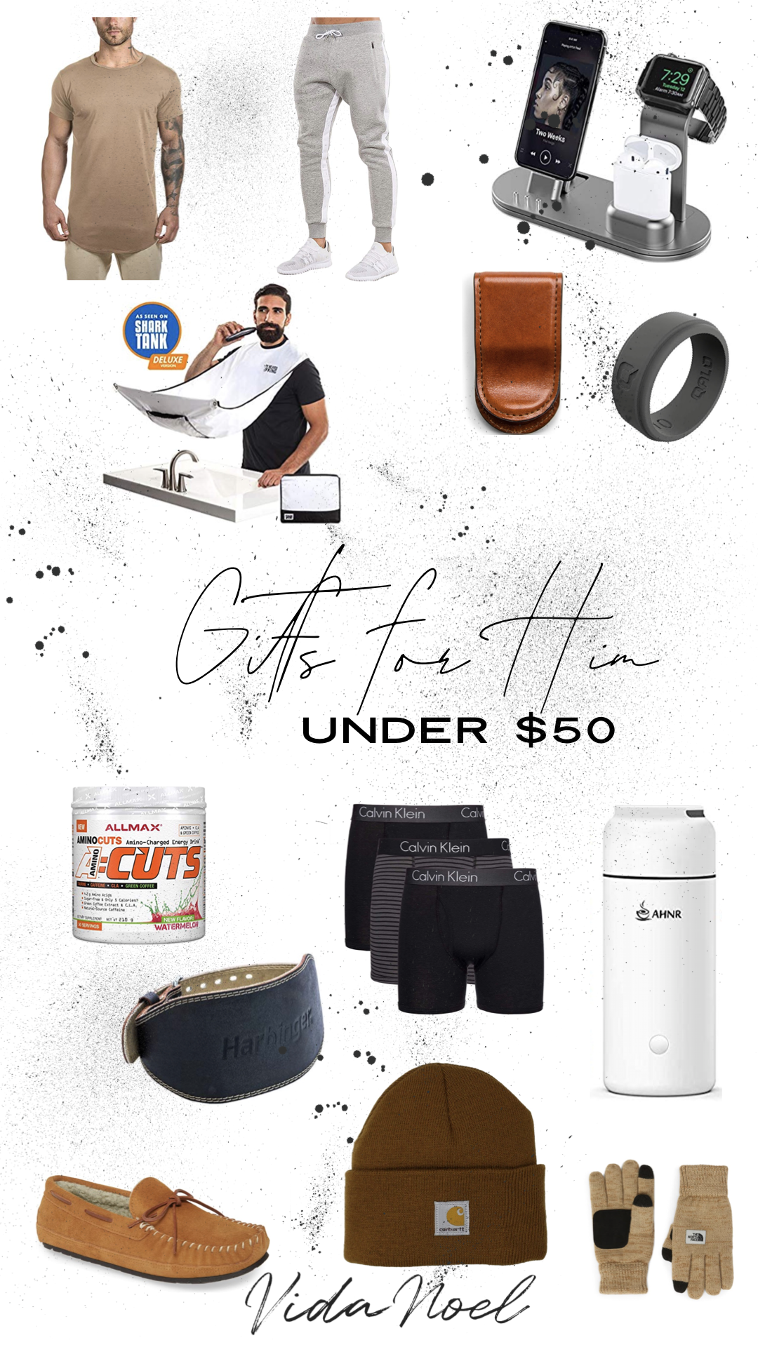Gifts For Him // Under $50